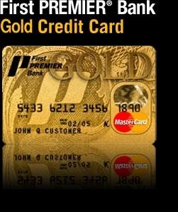 First Premier Bank Visa And Mastercard
